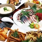 お得な2000円コース 旬の大皿料理